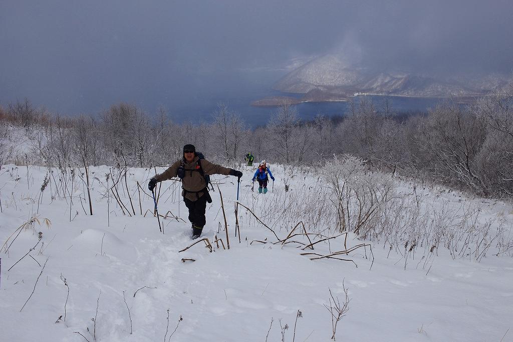 有珠山、12月11日-同行者からの写真-_f0138096_18251657.jpg