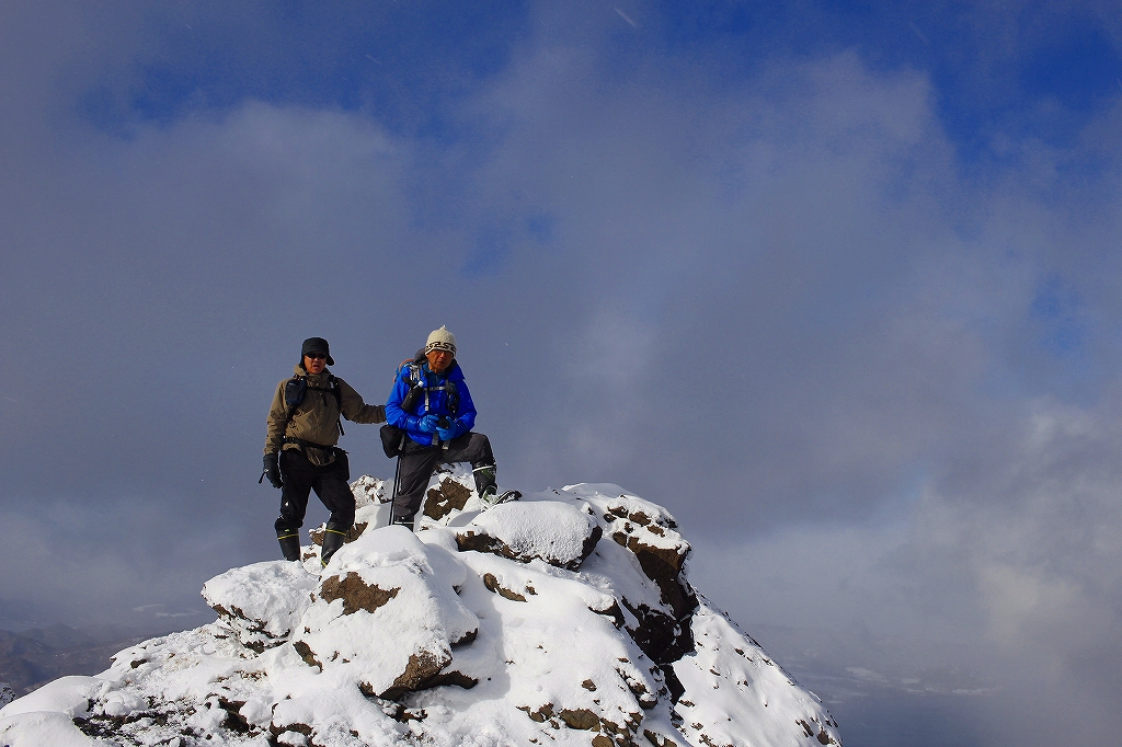 有珠山、12月11日-同行者からの写真-_f0138096_18253374.jpg