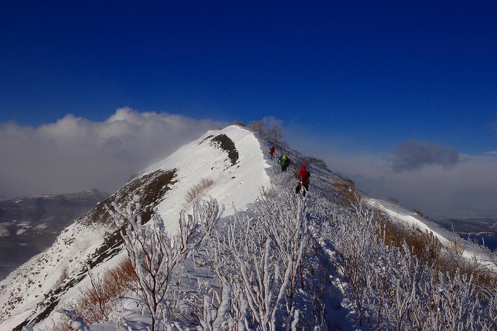 有珠山、12月11日-同行者からの写真-_f0138096_18255058.jpg