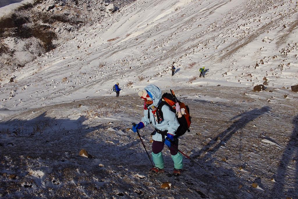 有珠山、12月11日-同行者からの写真-_f0138096_18261611.jpg