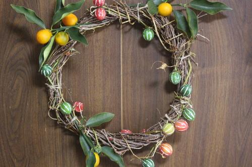 クリスマスリース_e0094102_12355875.jpg