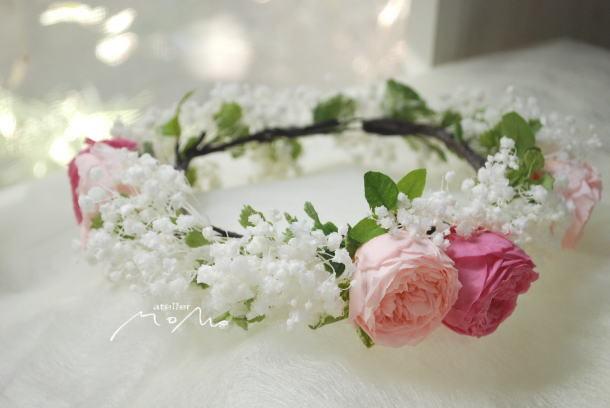 かすみ草の花冠_a0136507_21515216.jpg