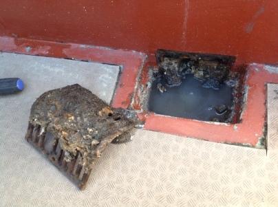 高圧洗浄と現場確認_c0186441_21223201.jpg