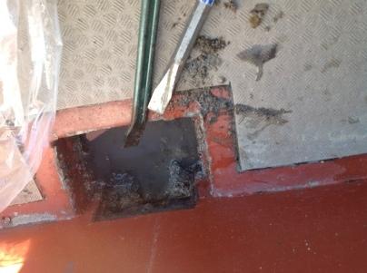 高圧洗浄と現場確認_c0186441_21230504.jpg