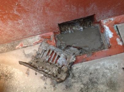 高圧洗浄と現場確認_c0186441_21325963.jpg