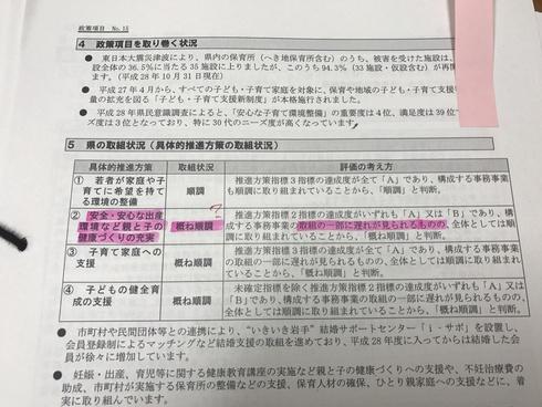 さらなる「産前産後ケア」の充実を訴えてゆく〜妊娠出産包括支援支援事業の県の評価はC〜_b0199244_16205236.jpg