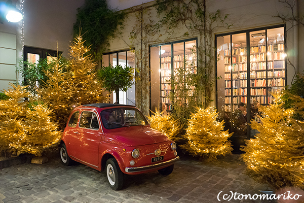 週末大にぎわいのクリスマス前のパリ_c0024345_20442514.jpg