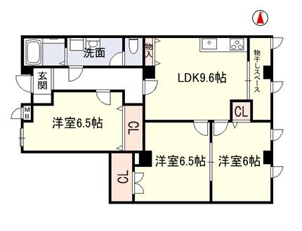 稲葉2丁目 3LDKファミリータイプ 空部屋でました!!_e0251265_15055018.png
