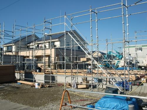 石巻市伊勢町  新築工事進捗状況_e0357165_18344287.jpg