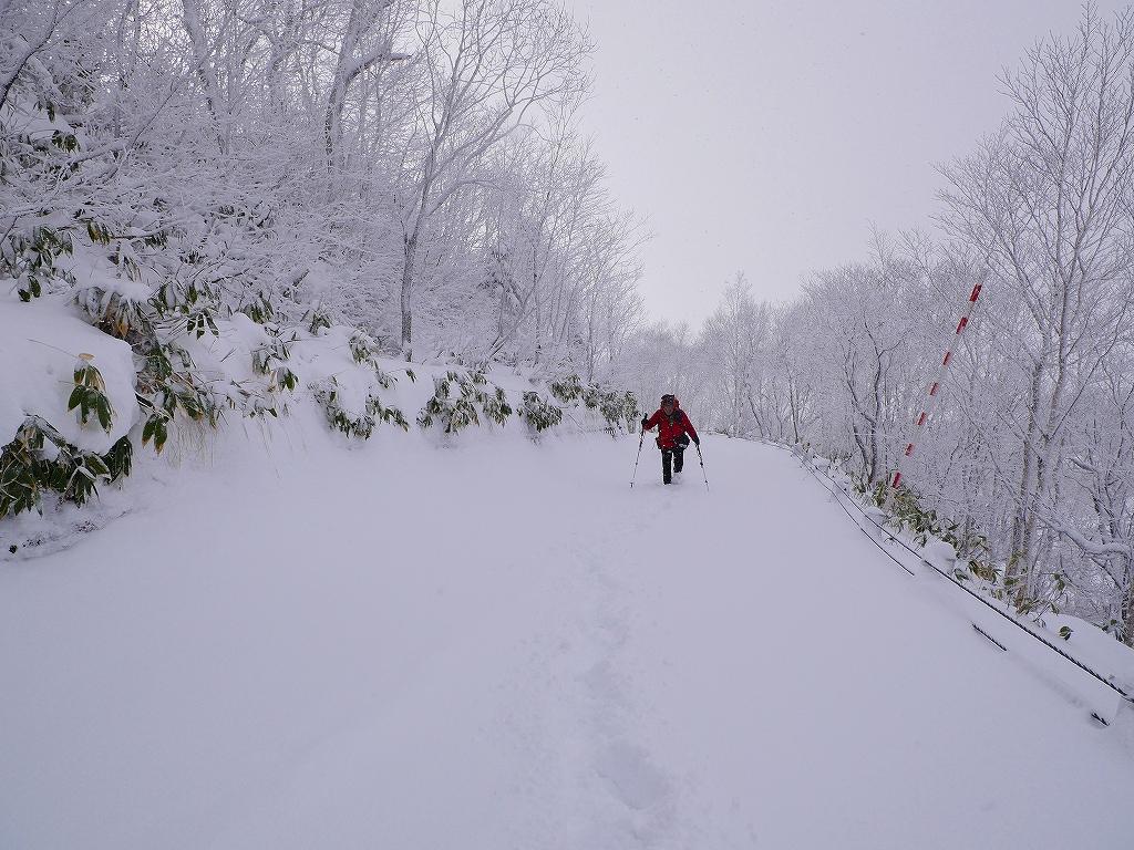 紋別岳、12月16日-その1-_f0138096_16455768.jpg