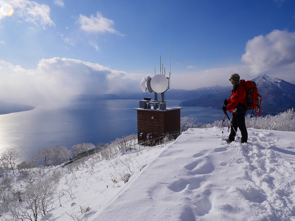 紋別岳、12月16日-その1-_f0138096_16463066.jpg