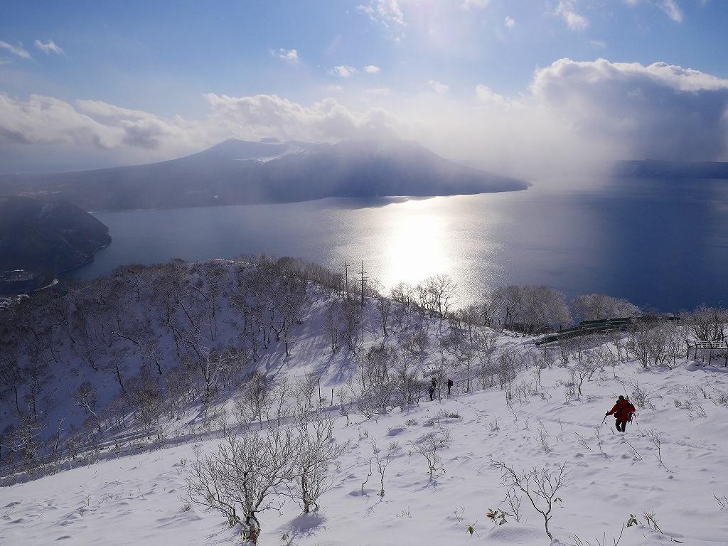 紋別岳、12月16日-その1-_f0138096_16463873.jpg