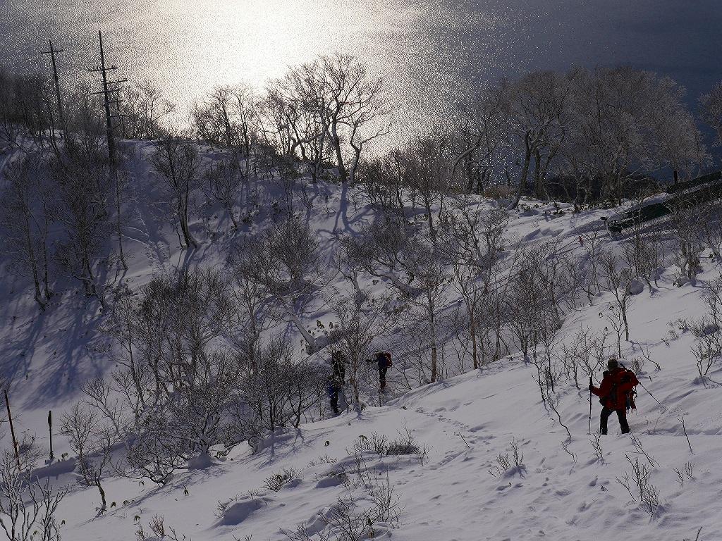 紋別岳、12月16日-その1-_f0138096_16464626.jpg