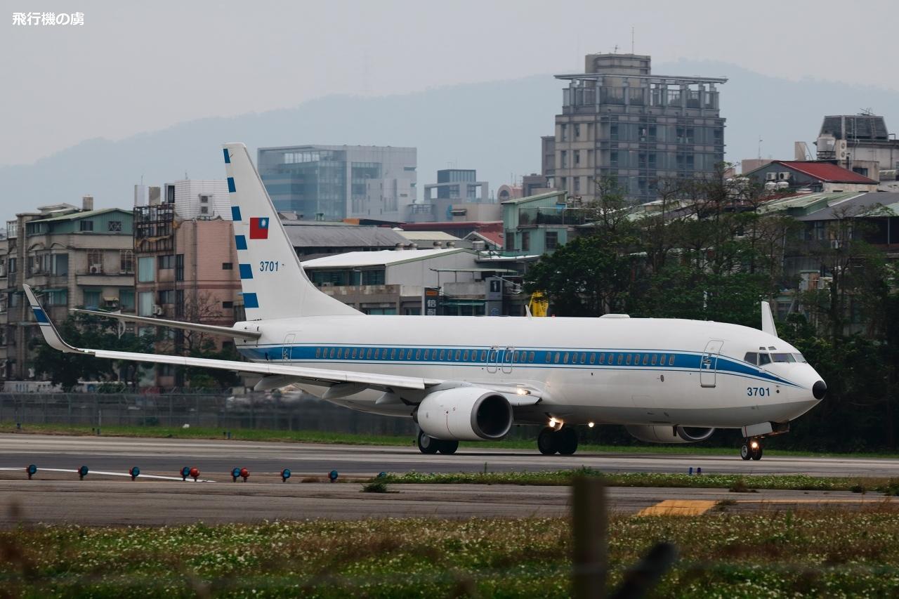 12℃の朝に遭遇  B737  中華民国空軍_b0313338_22340402.jpg