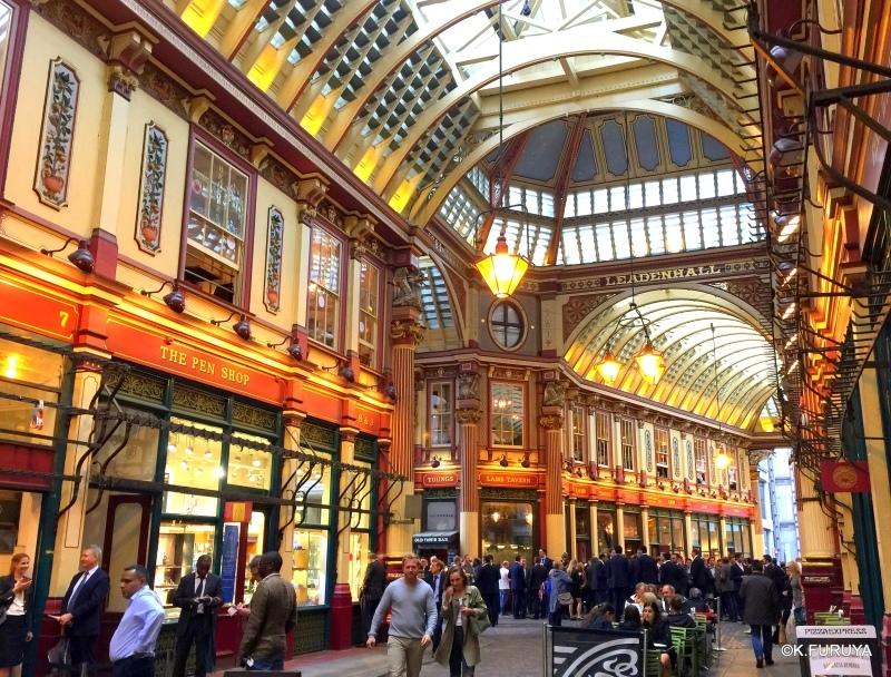 """ロンドン4  美しいアーケード \""""レドンホール・マーケット\""""_a0092659_21171616.jpg"""