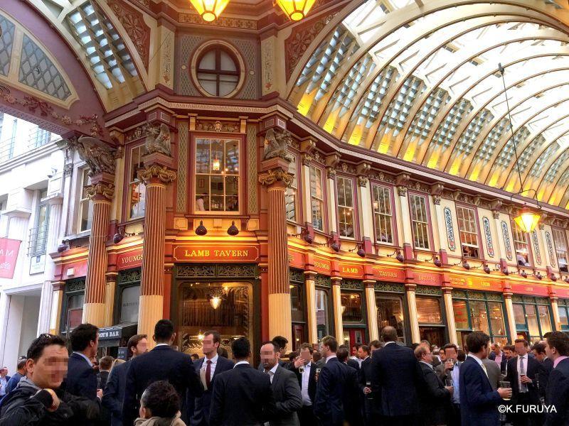 """ロンドン4  美しいアーケード \""""レドンホール・マーケット\""""_a0092659_21520388.jpg"""