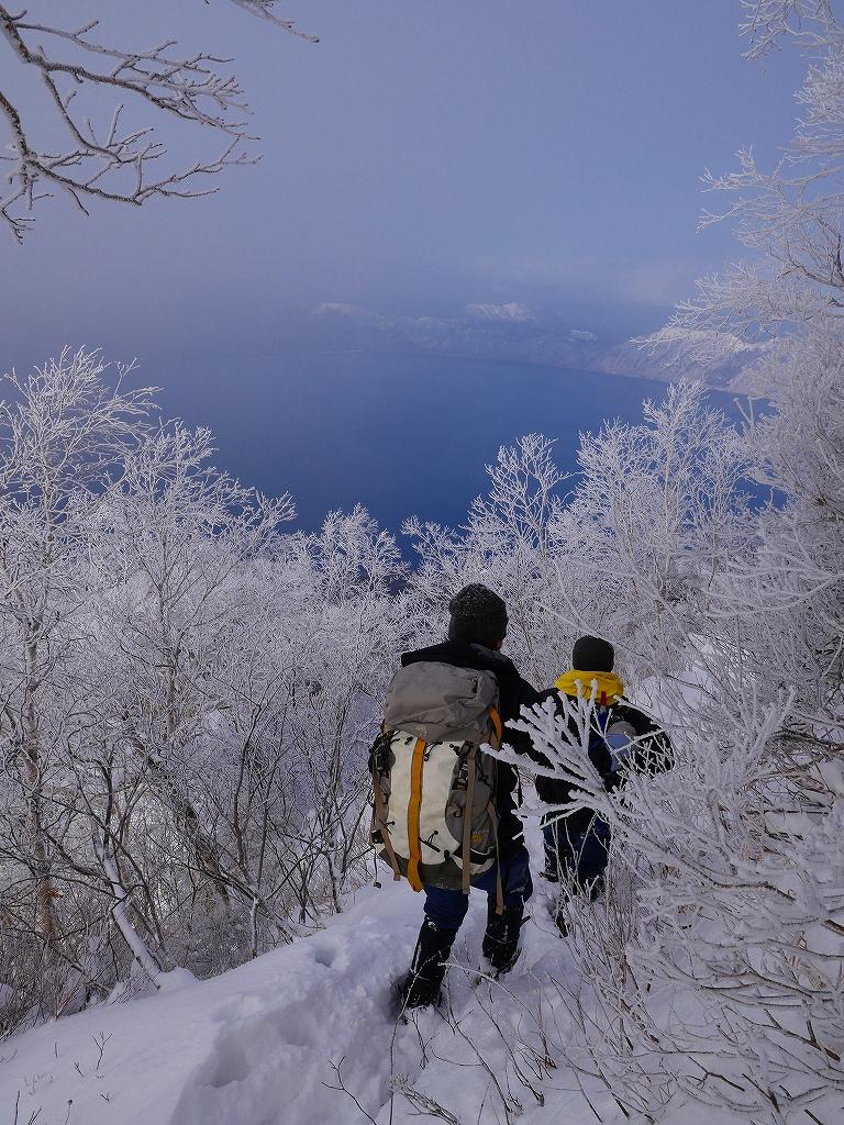 風不死岳北尾根、12月14日_f0138096_115729.jpg