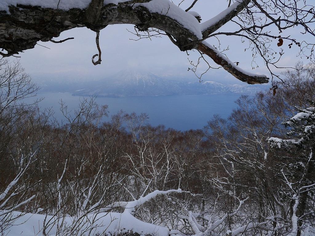 風不死岳北尾根、12月14日_f0138096_11573895.jpg