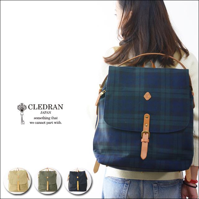 CLEDRAN [クレドラン] INNO 2WAY RUCKSACK [CL2208]  LADY\'S_f0051306_18525585.jpg
