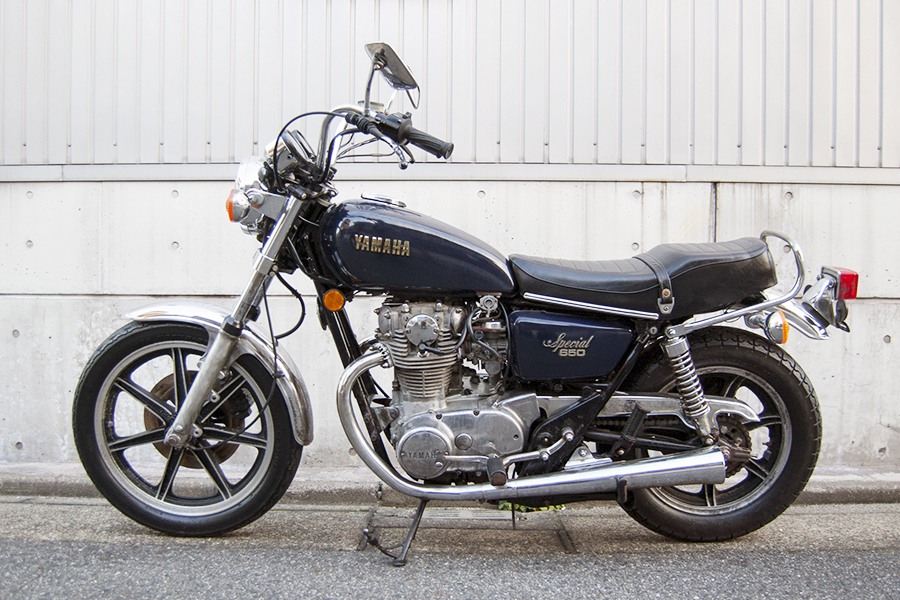 FOR SALE!! 1979 YAMAHA XS650SP_e0182444_19194868.jpg