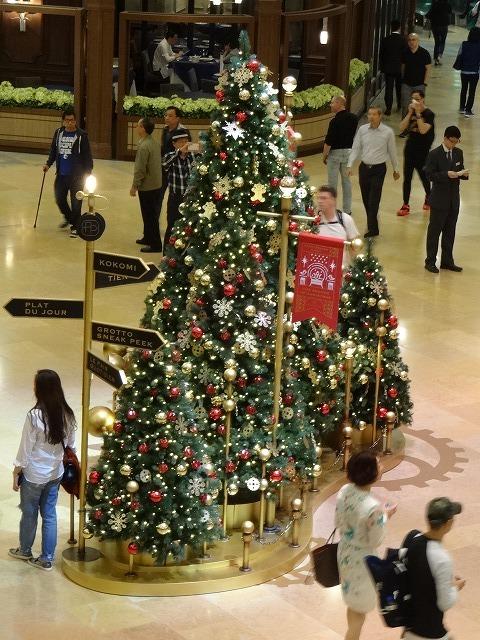 太古廣場(パシフィックプレイス)のクリスマスデコレーション 2_b0248150_14361683.jpg
