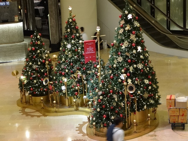太古廣場(パシフィックプレイス)のクリスマスデコレーション 2_b0248150_14480173.jpg