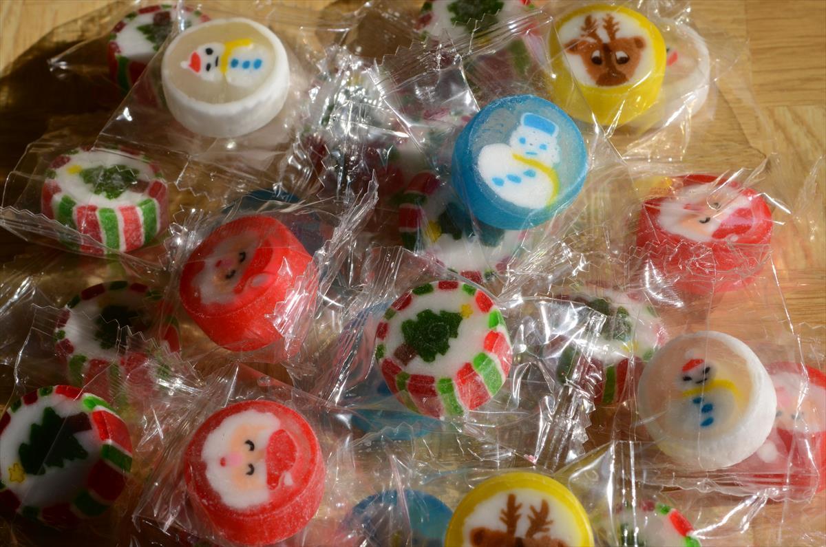 クリスマス金太郎飴_f0159784_10512439.jpg