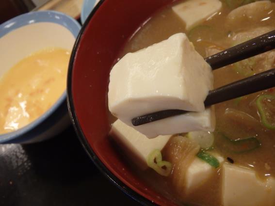 松屋の牛めし豚汁生玉子セット   川西能勢口店_c0118393_14201268.jpg