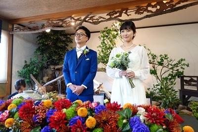 結婚披露宴に出席してきました。_f0271898_16514783.jpg