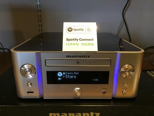 マランツ M-CR611、Spotifyに対応☆  _c0113001_2218271.jpg