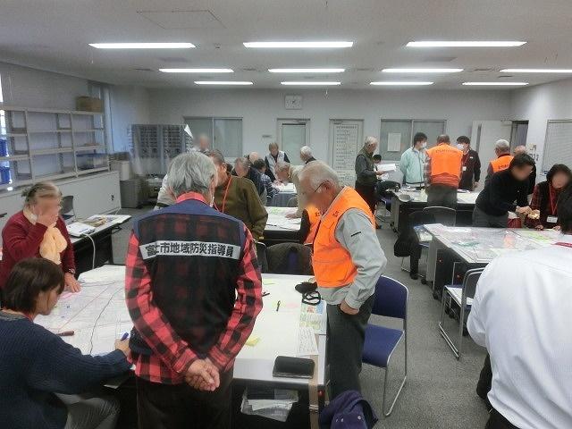 南海トラフ巨大地震の底知れぬ大きさと怖さ! 災害図上訓練「DIGセミナー」で_f0141310_815246.jpg
