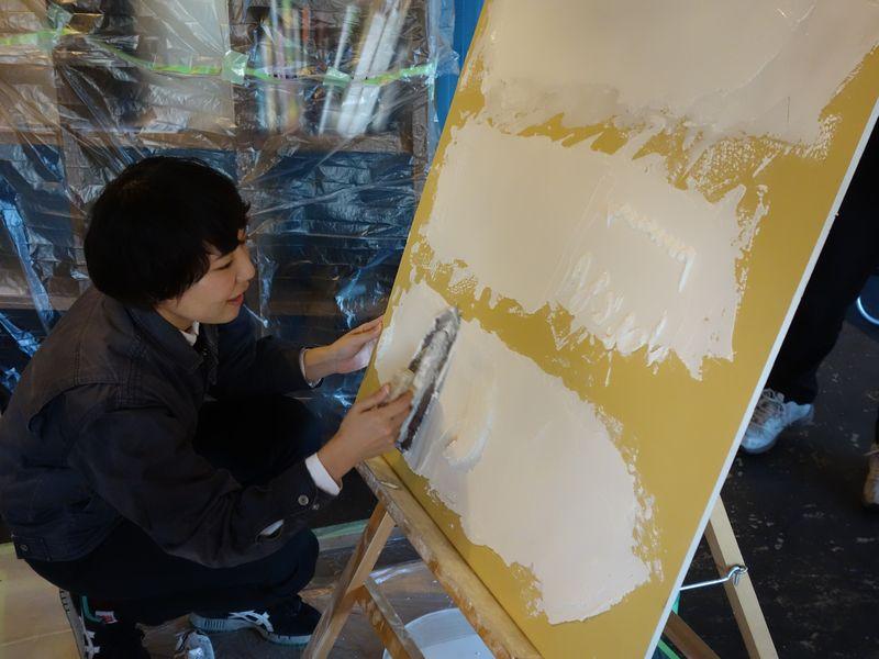 「左官」と「漆喰」を学ぶ集い。_b0131012_1925567.jpg