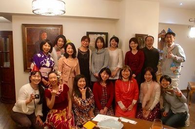 カラーフィールドのクリスマス☆『Think Pink Party』速報♪_c0200917_21323617.jpg