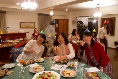 カラーフィールドのクリスマス☆『Think Pink Party』速報♪_c0200917_21513438.jpg