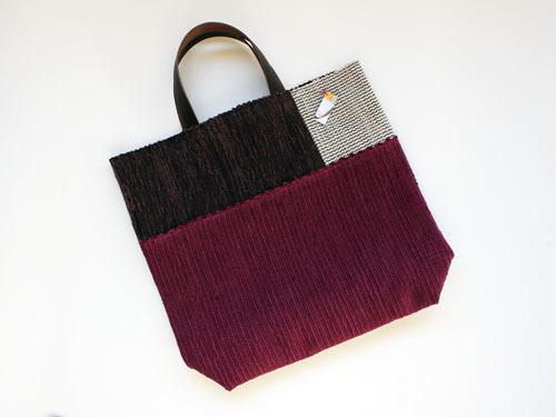 薄井ゆかりさんの裂き織りバッグが、再入荷しました。_a0026127_17172331.jpg