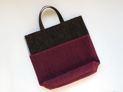 薄井ゆかりさんの裂き織りバッグが、再入荷しました。_a0026127_17173287.jpg