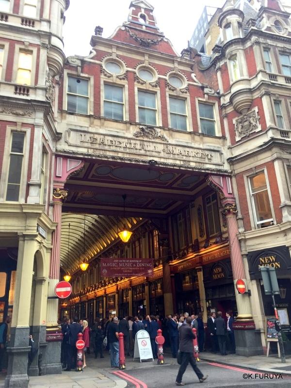 """ロンドン4  美しいアーケード \""""レドンホール・マーケット\""""_a0092659_17310275.jpg"""