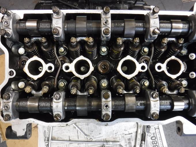 kawasaki ZL900 エンジンオーバーホールでござる。その4_a0163159_00203099.jpg