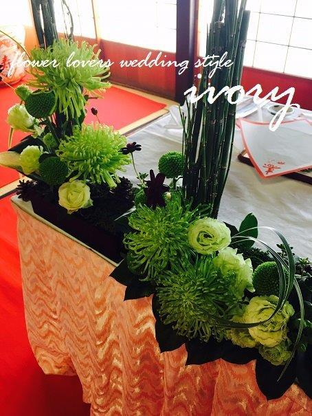 『〜昨日の婚礼から〜♬』_b0094378_22284697.jpg