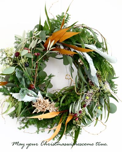 Christmas wreath 2016 ♪_d0113182_13115132.jpg