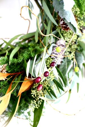 Christmas wreath 2016 ♪_d0113182_13125348.jpg
