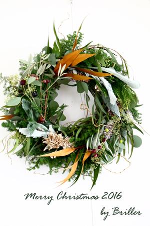 Christmas wreath 2016 ♪_d0113182_13493749.jpg
