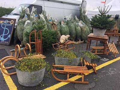 今年最後のケンプトンアンティークマーケットもクリスマスモード_f0238789_20143353.jpg