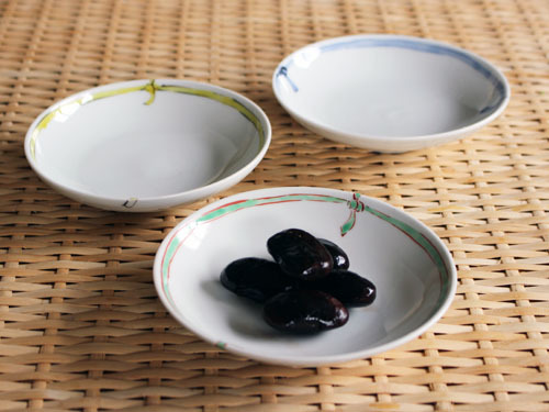 古川桜さんの紐の小皿。_a0026127_20592803.jpg