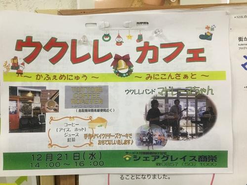 ⭐︎明日!12月のウクレレカフェ&サンフィールⅢミニ見学会_b0182530_182262.jpg
