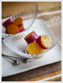 さつま芋のオレンジ煮_b0142989_18372227.jpg