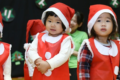 【西新宿園】クリスマス会_a0267292_1031821.jpg