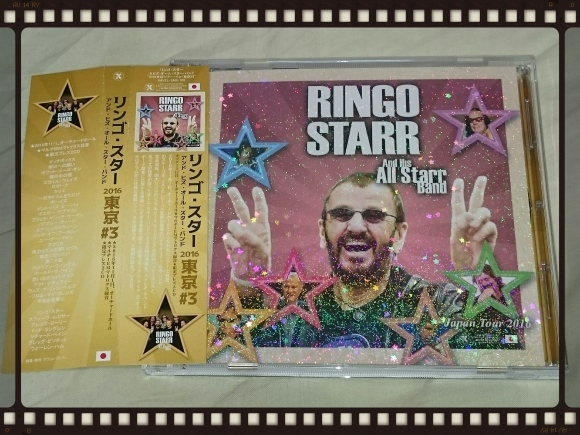 RINGO STARR And His ALL Starr Band 2016 TOKYO#3_b0042308_00024950.jpg