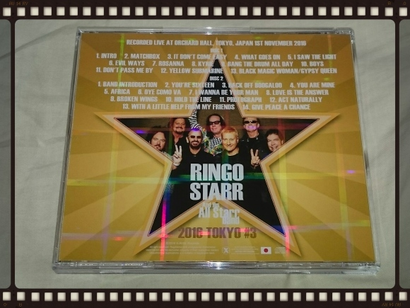 RINGO STARR And His ALL Starr Band 2016 TOKYO#3_b0042308_00044663.jpg