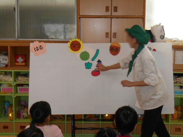 食育活動 ~旬の野菜~_e0148419_10361153.jpg
